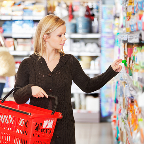 De consument centraal
